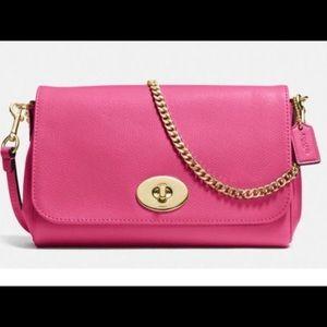 "NWT COACH Pink ""Ruby"" 3 in 1  Shoulder Bag"